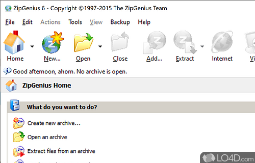 ZipGenius Screenshot