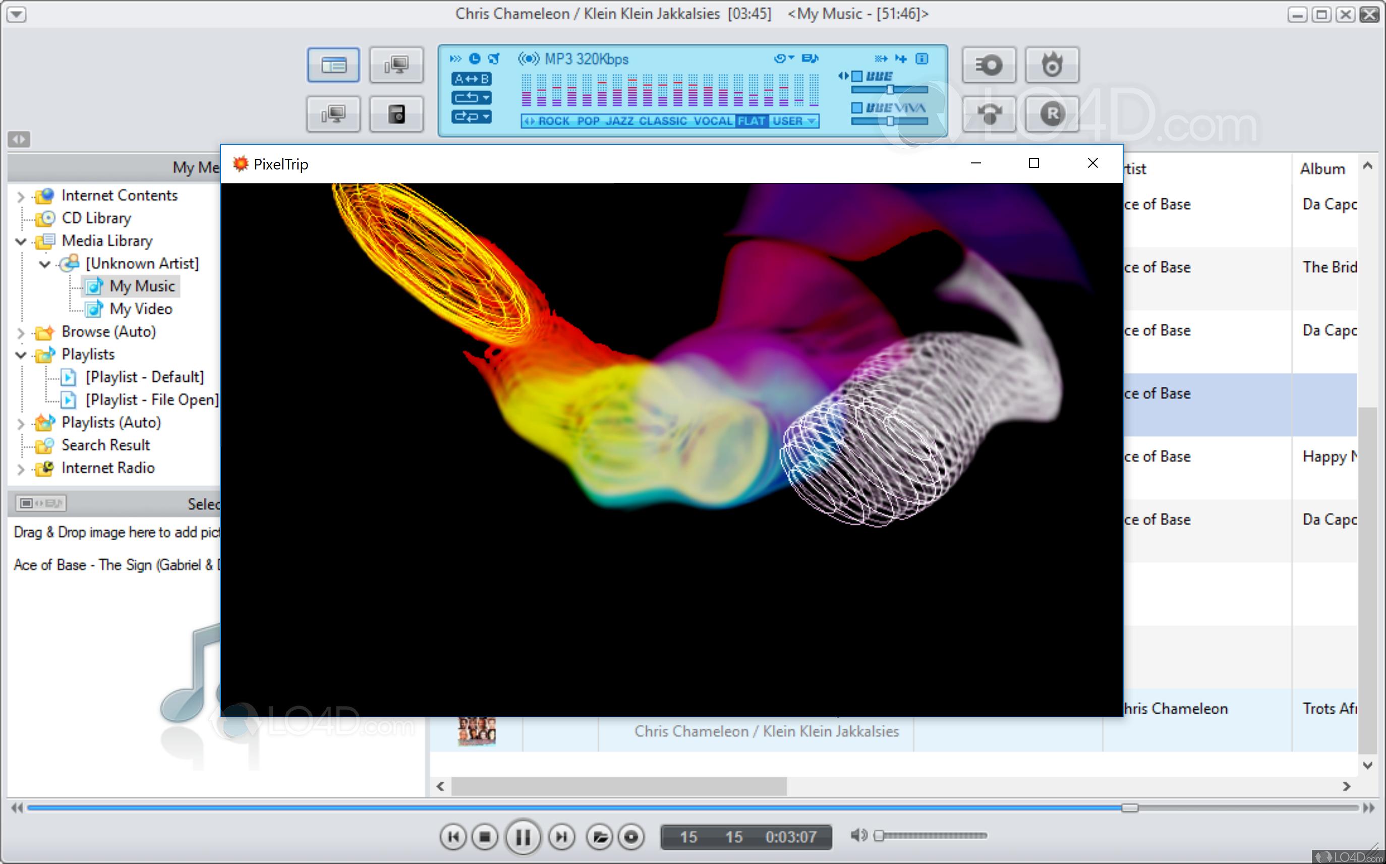 JetAudio Basic - Screenshots