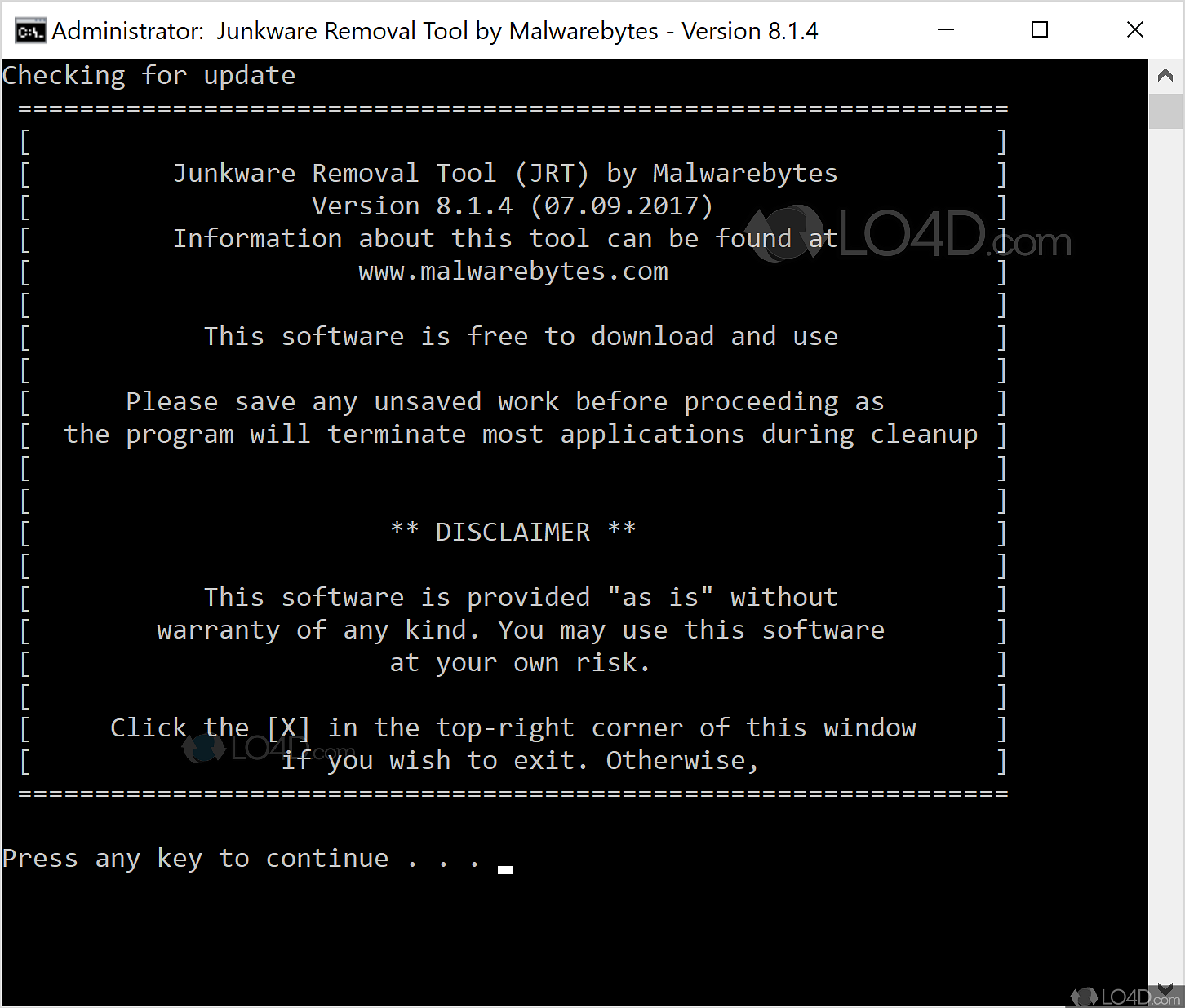 download junkware removal tool free