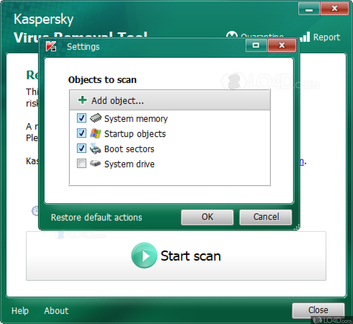 Utility for uninstalling Kaspersky products properly