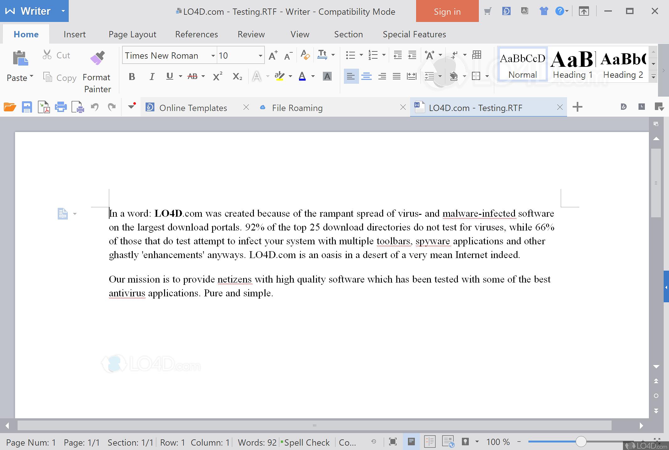 WPS Office - Screenshots