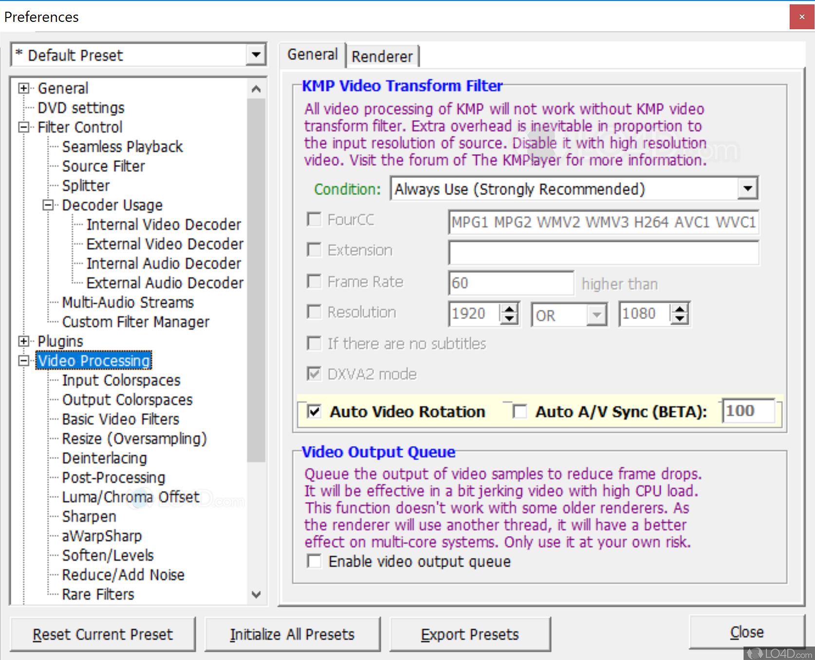 KMPlayer - Screenshots
