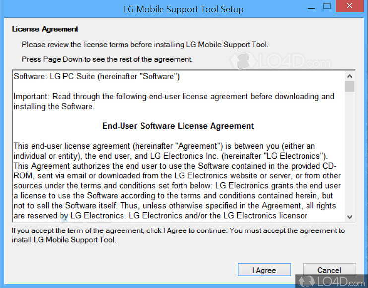 lg mobile support tool 1.6 9.0 free download