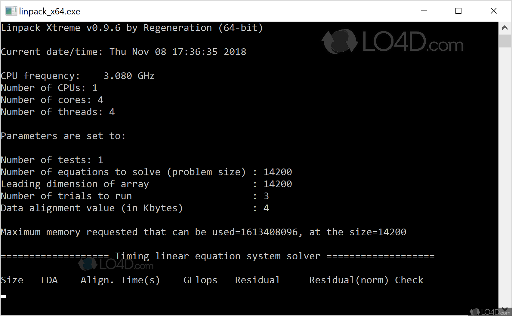 Linpack Xtreme - Download
