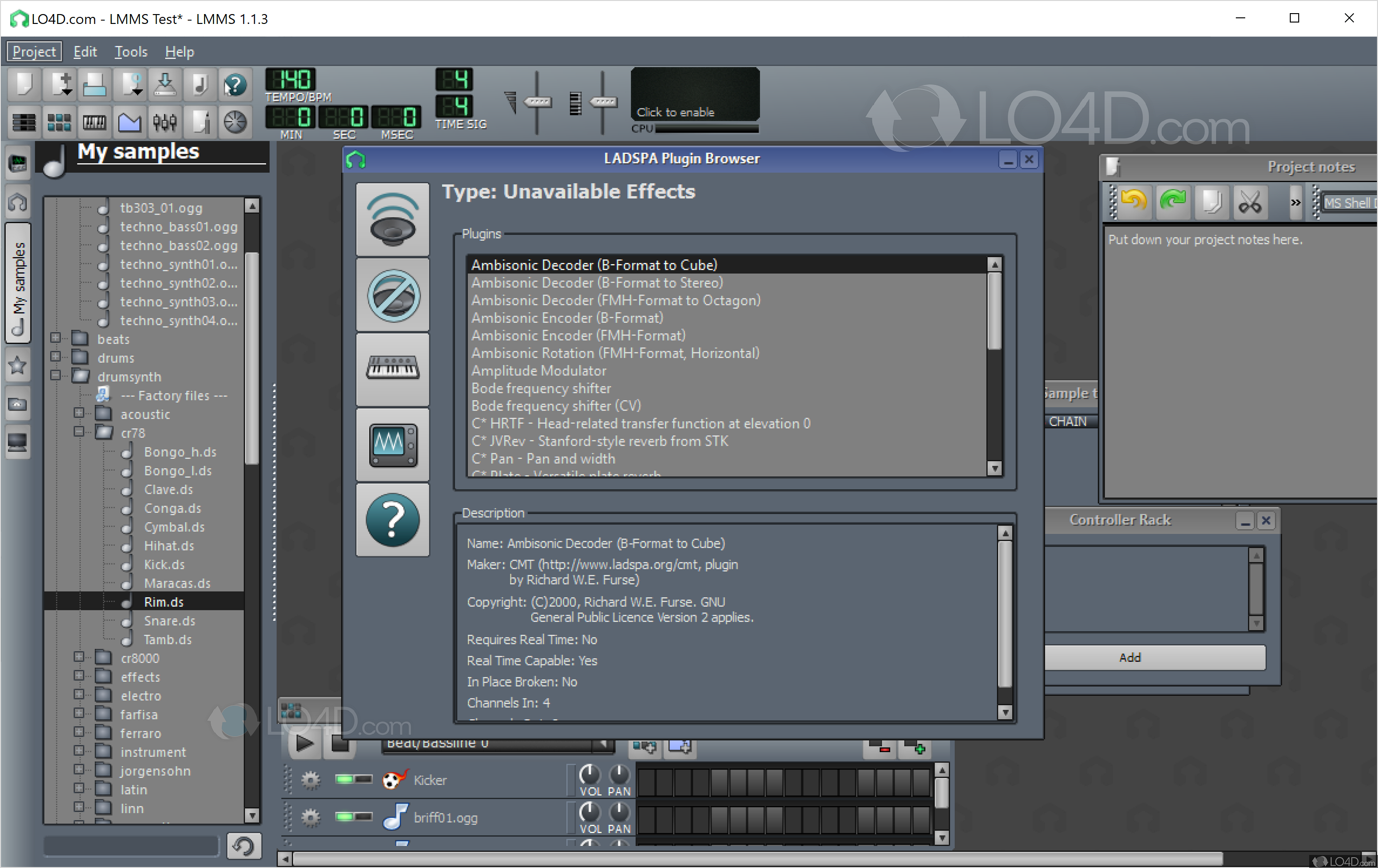 Lmms linux multimedia studio download