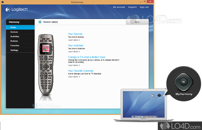 Logitech harmony remote software 7. 8. 1 free download for mac.