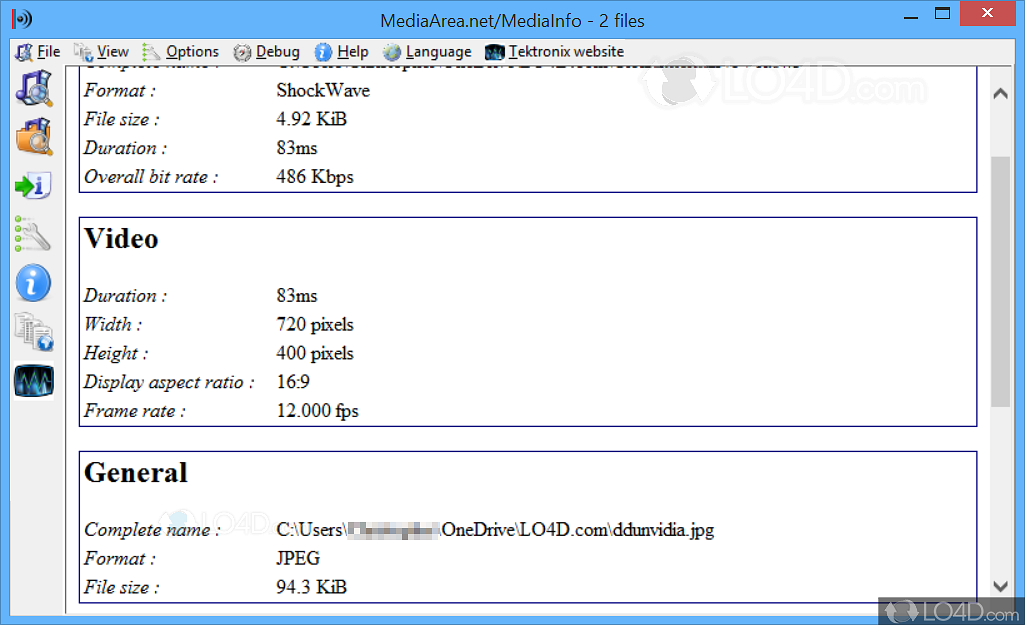 Mediainfo portable download