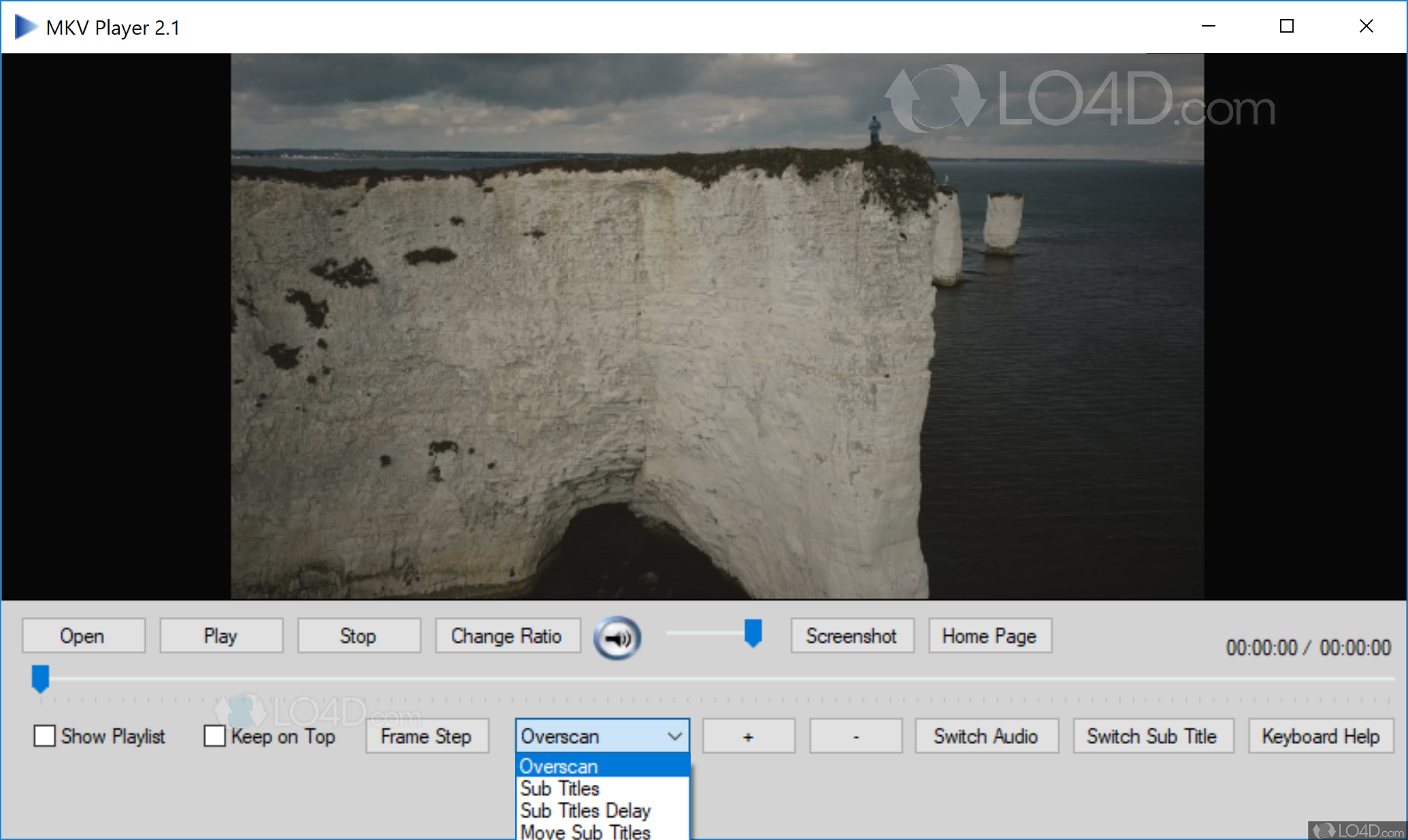 Free video player 1. 0. Download mkv player.