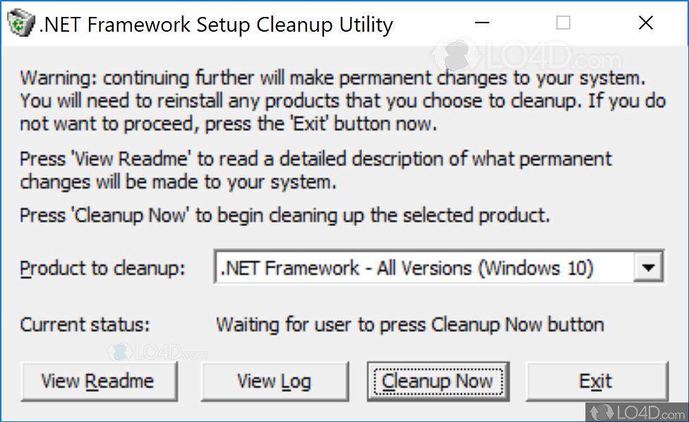 dotnetfx cleanup tool.zip