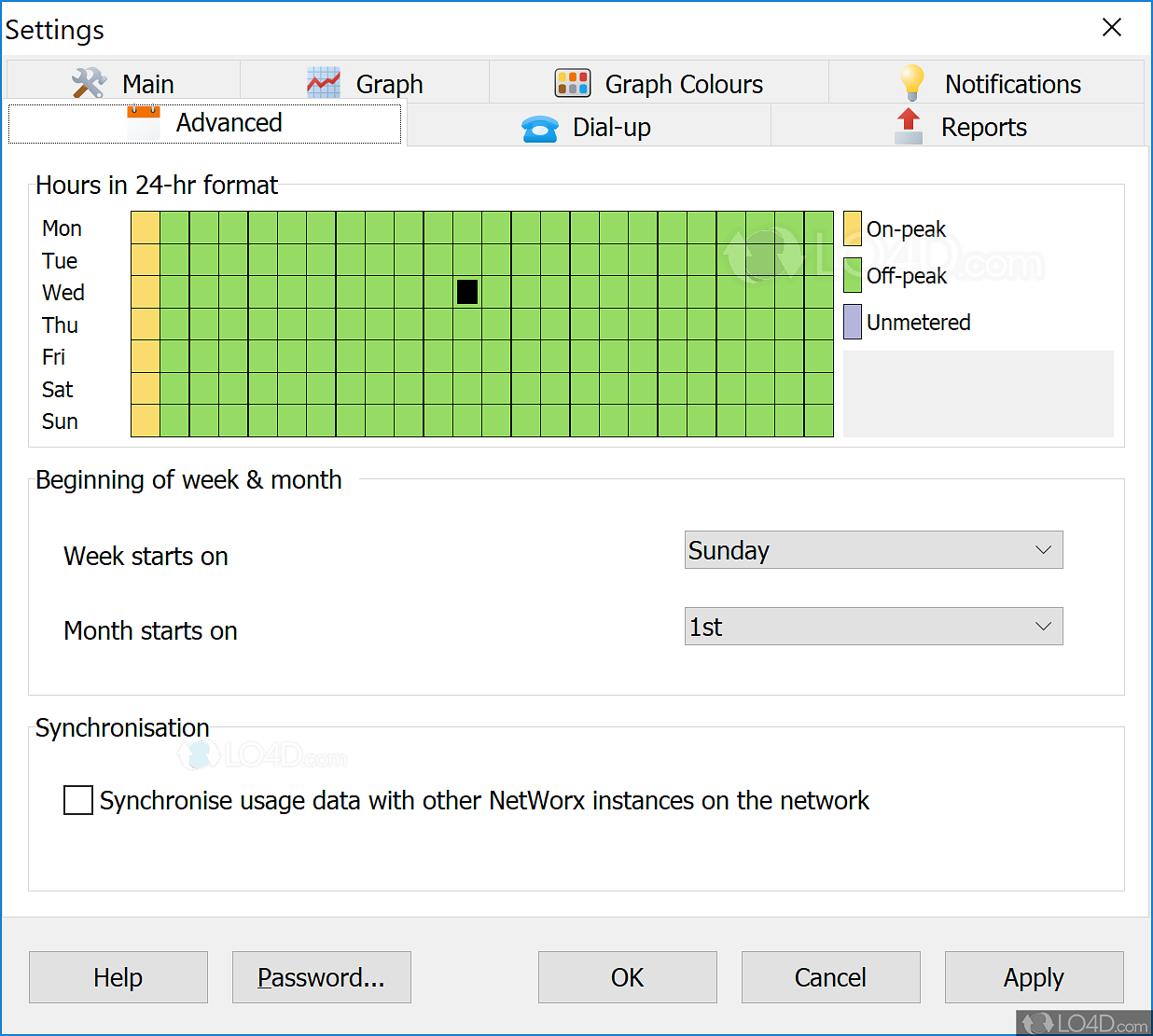 NetWorx - Screenshots