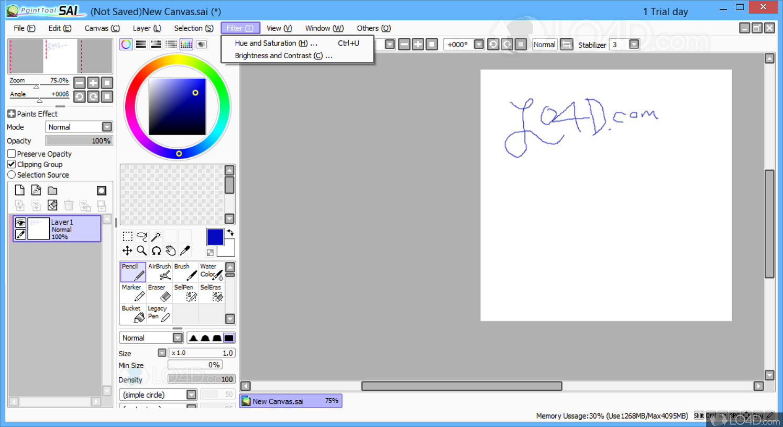 sai paint tool download windows 10