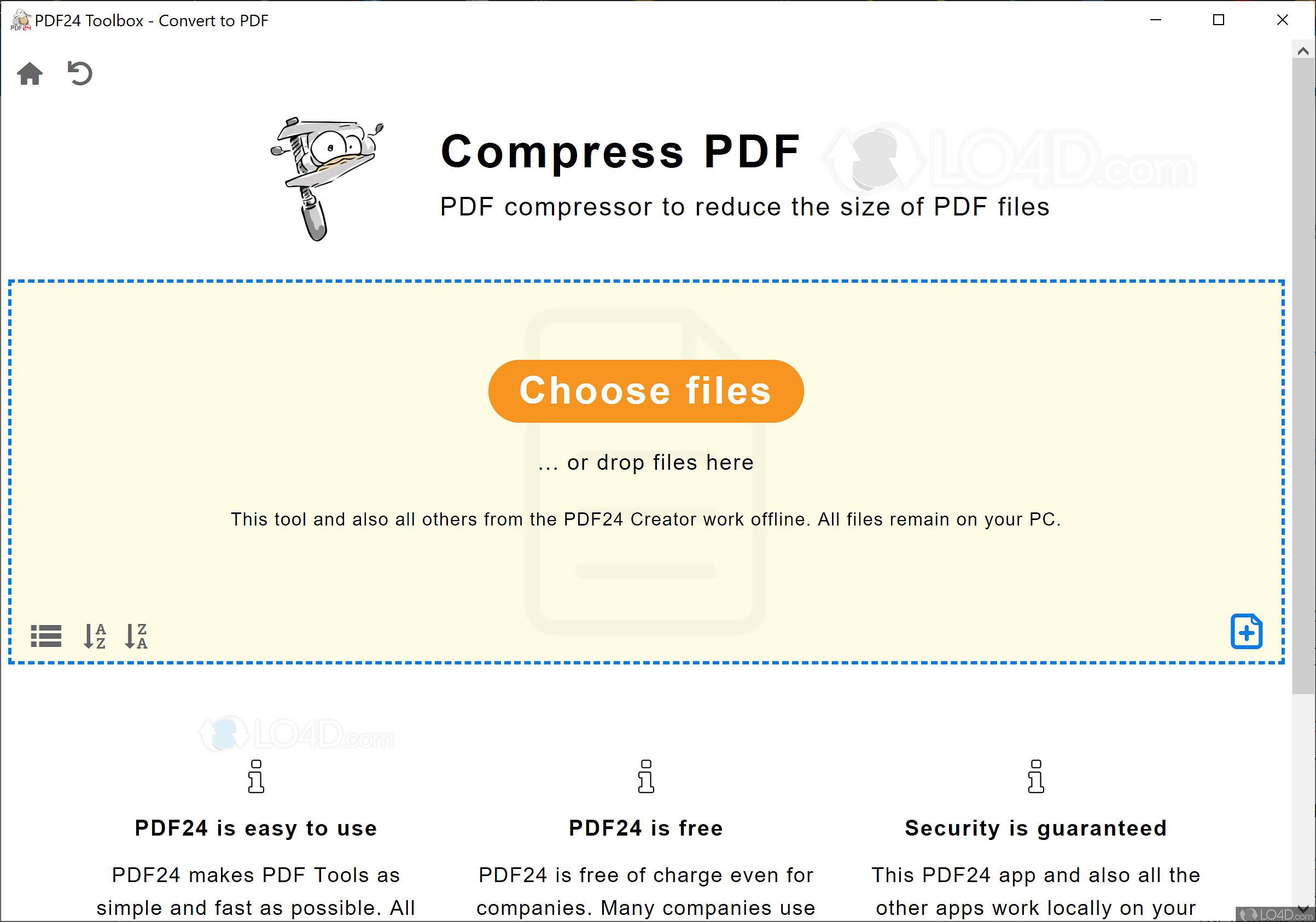 PDF24 PDF Creator - Screenshots