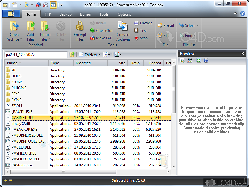 powerarchiver download
