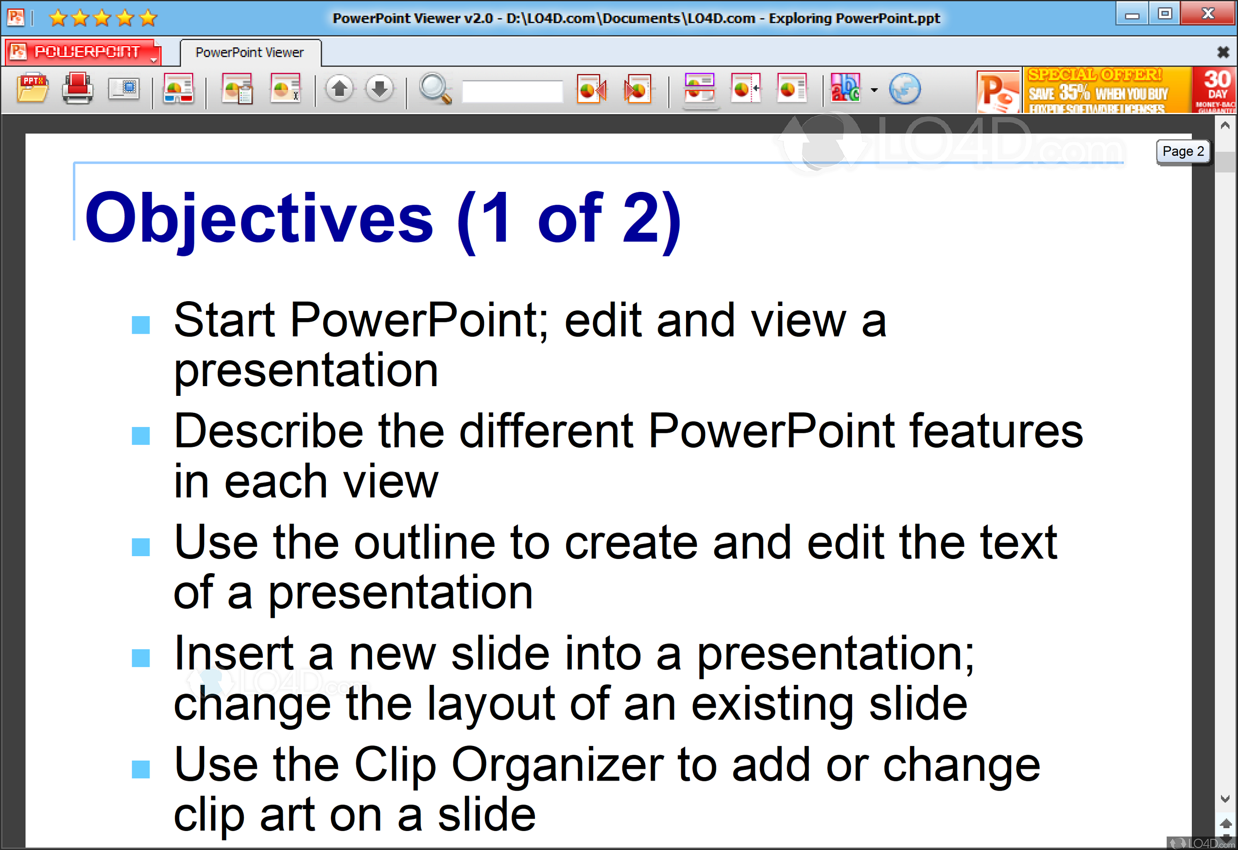 Powerpoint viewer download free for windows 10, 7, 8/8. 1 [64/32 bits].