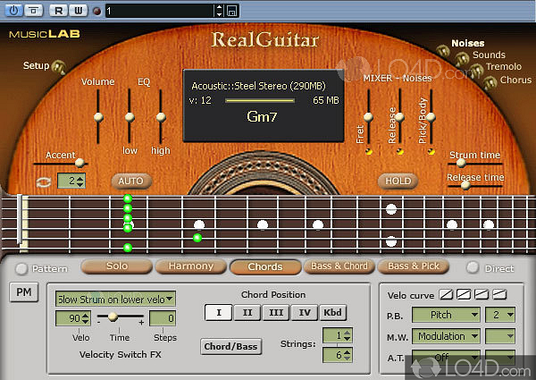 RealGuitar 3 manual - LO4D com
