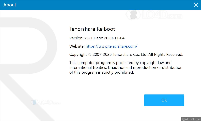 Launch Reiboot