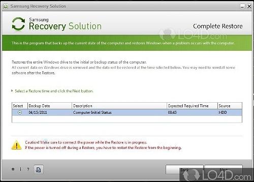 descargar e instalar recovery manager hp