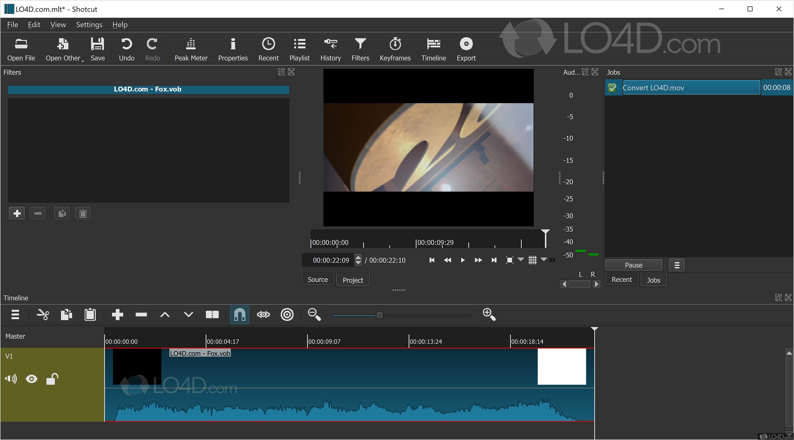 Shotcut Video Editor - Screenshots