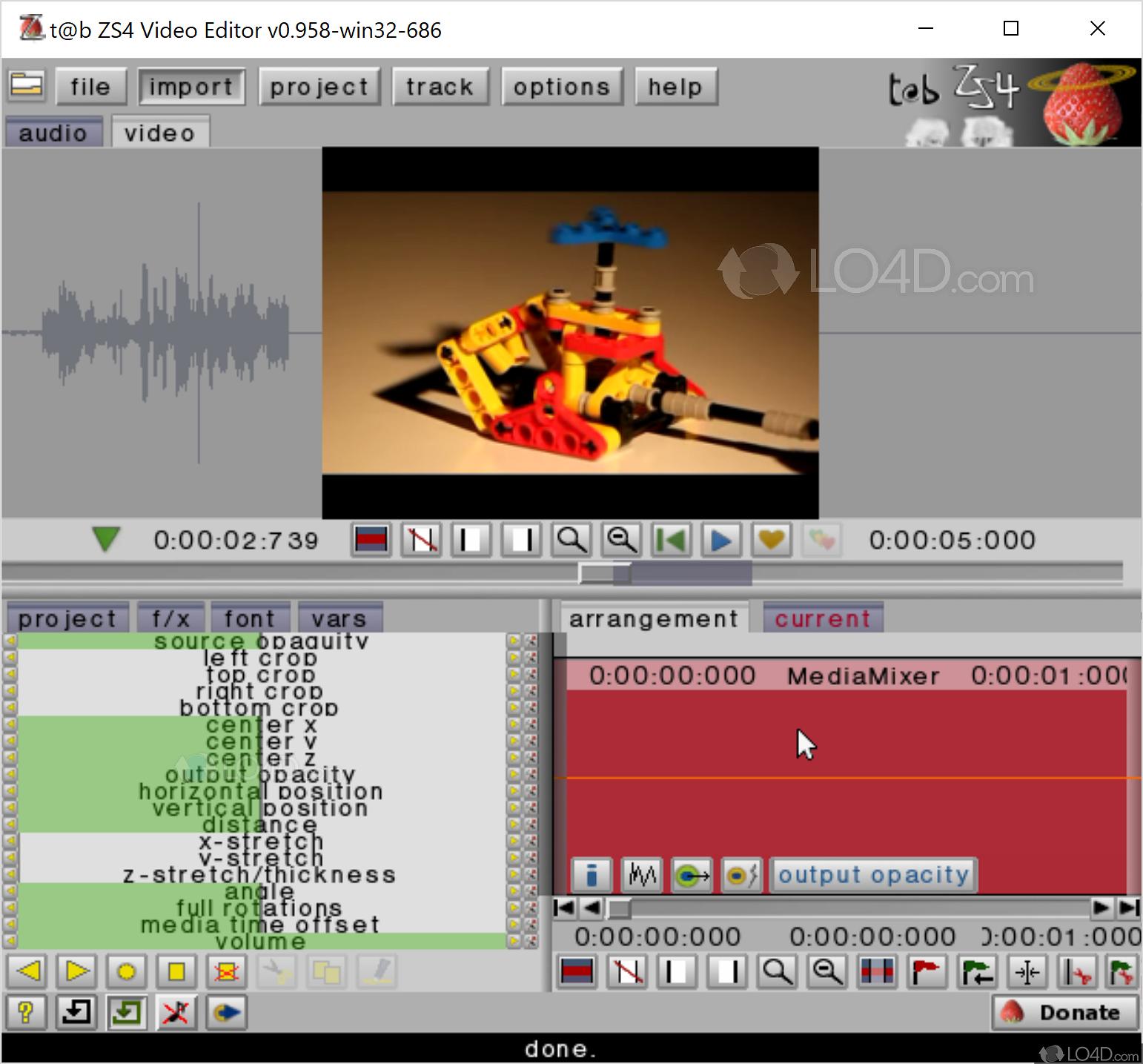 lossless video editor free