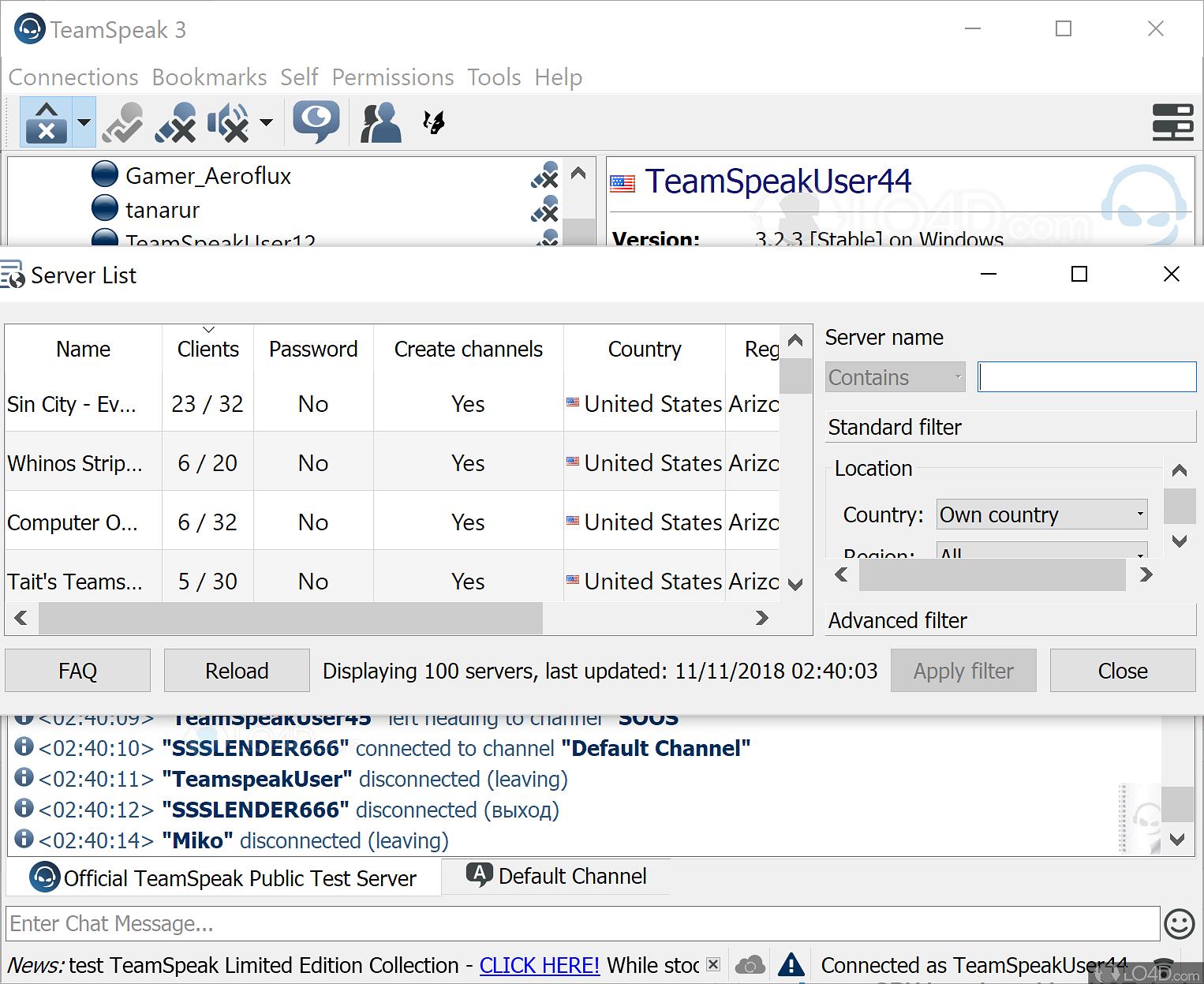 teamspeak 3 download free windows xp 32 bit