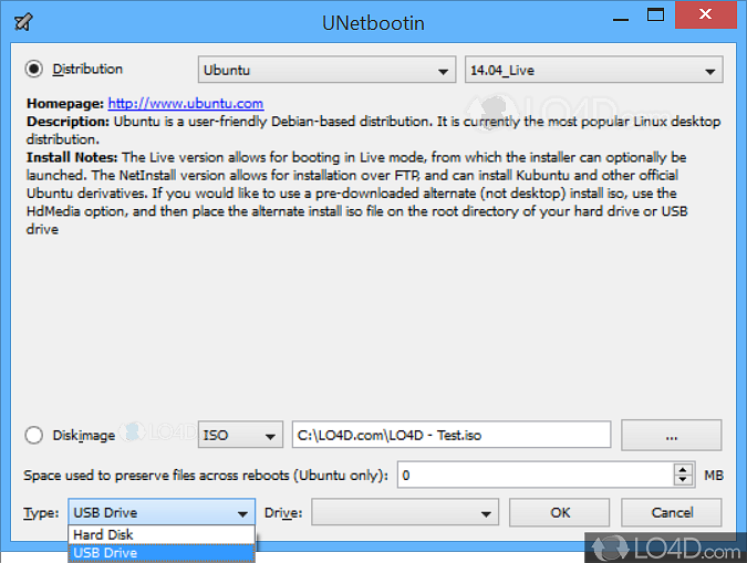unetbootin portable