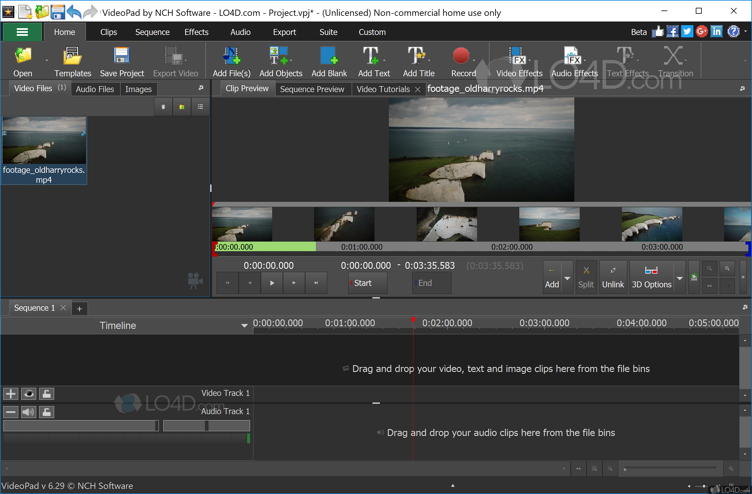 VideoPad Video Editor Free - Download