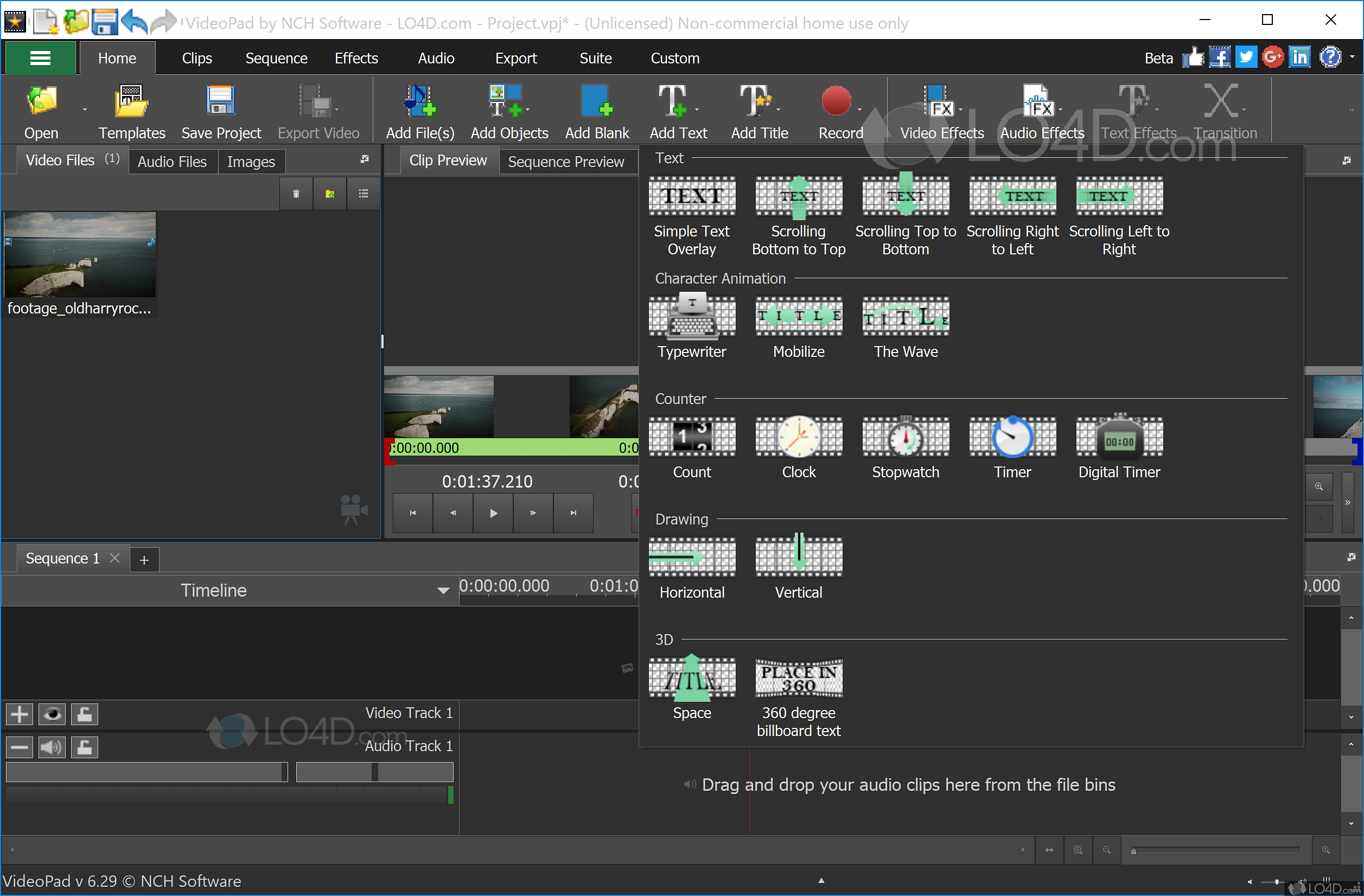 free download software videopad video editor full version