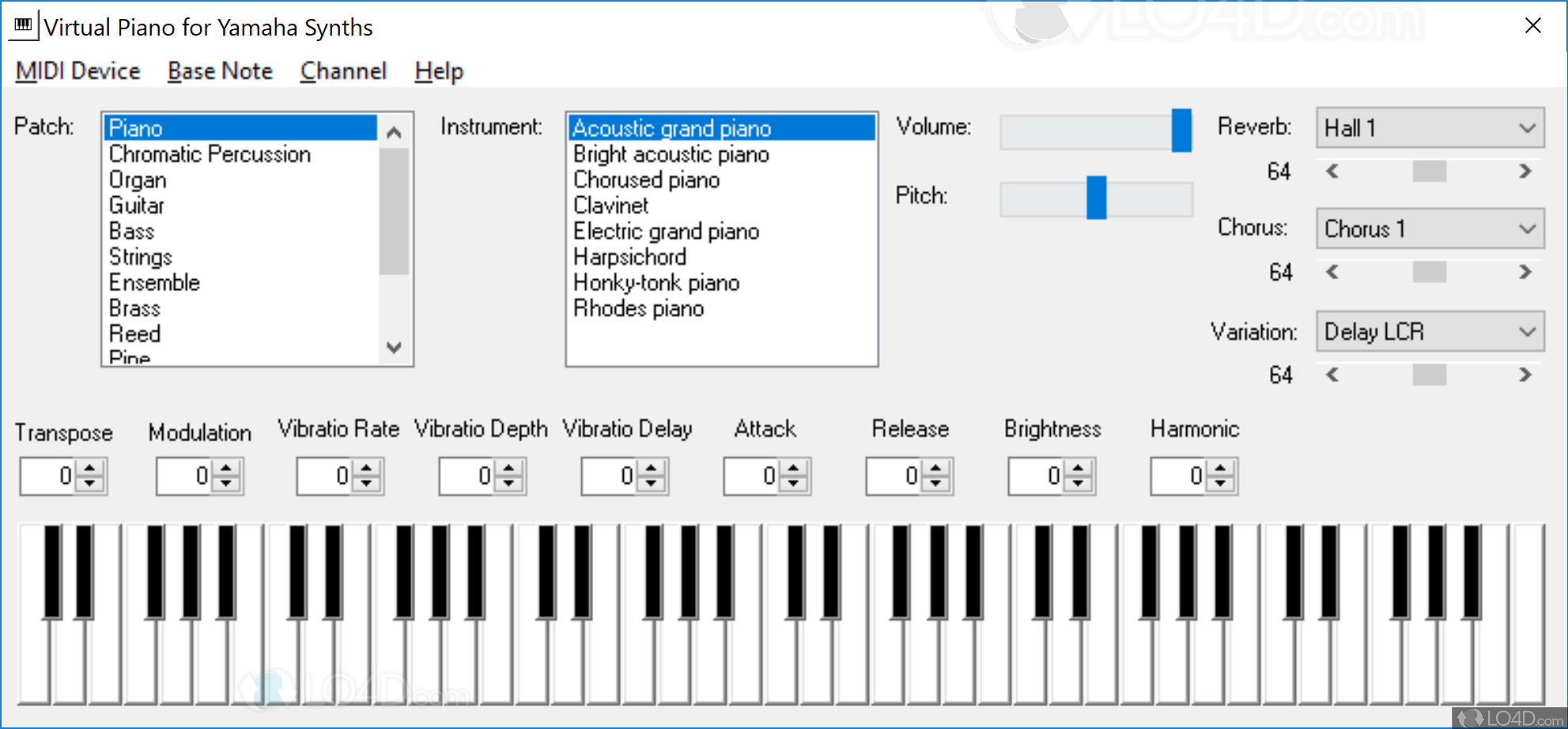 Virtual Piano - Screenshots