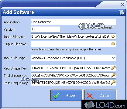 WinLicense - Screenshots