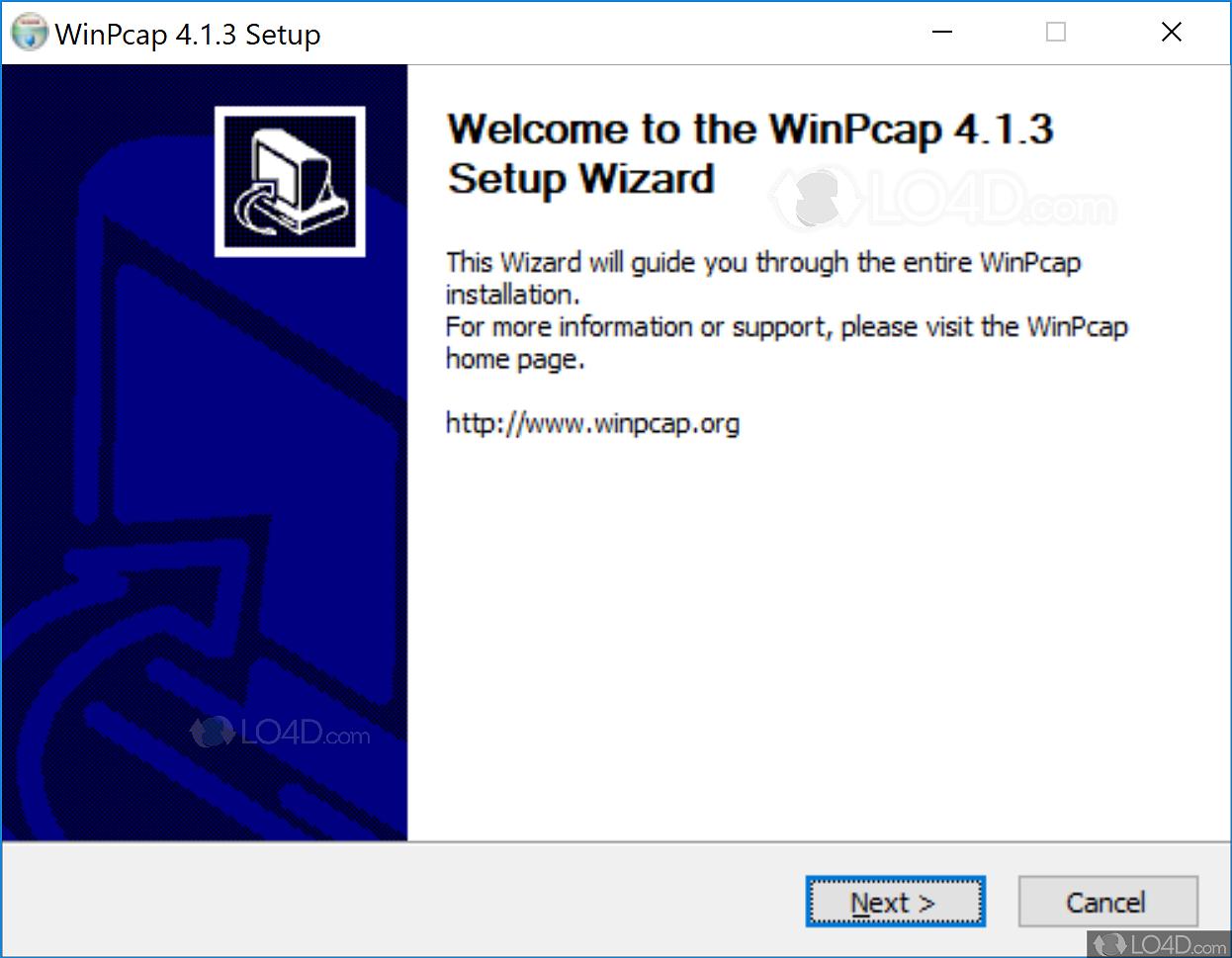 winpcap 4.0.1