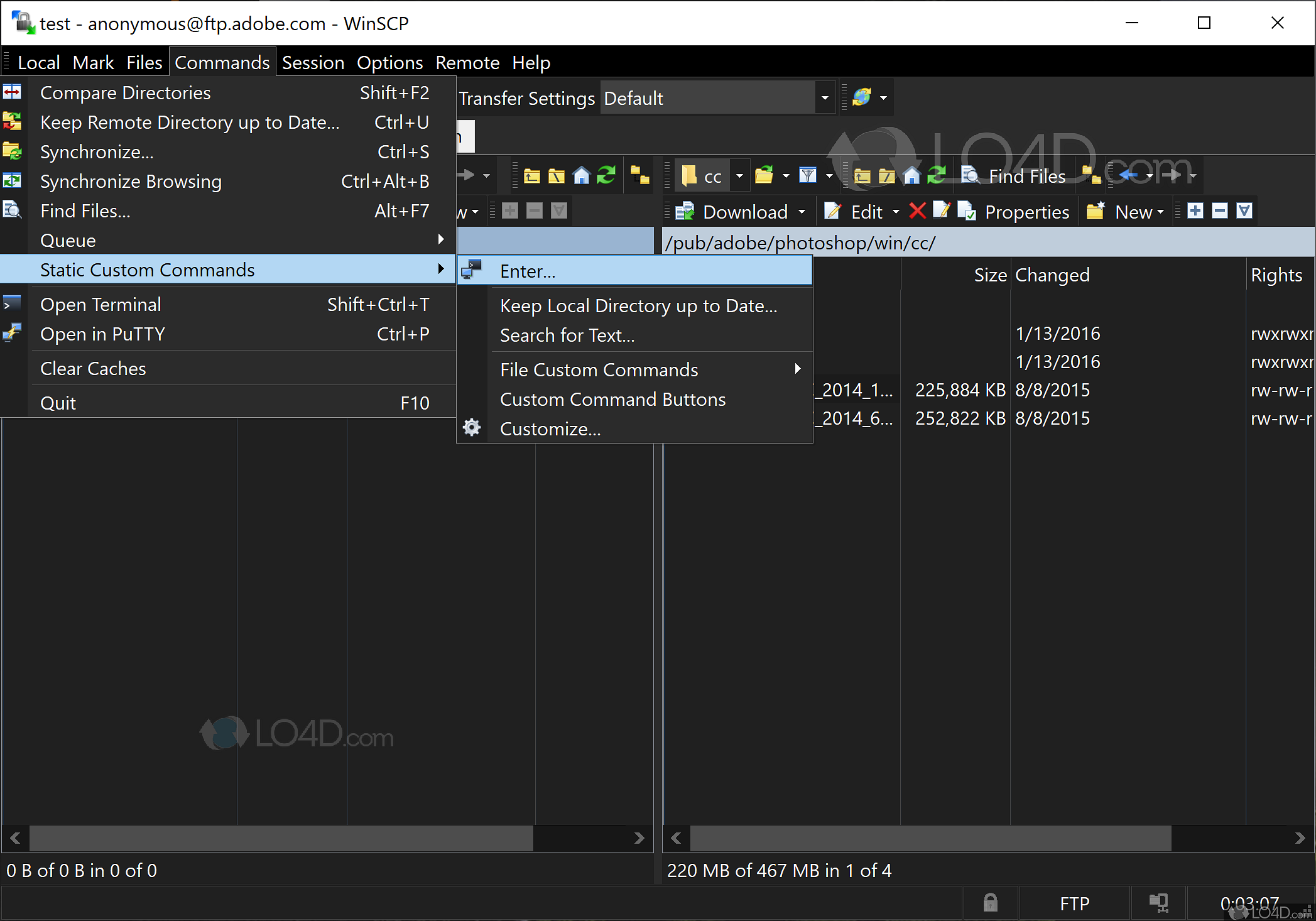 WinSCP - Screenshots