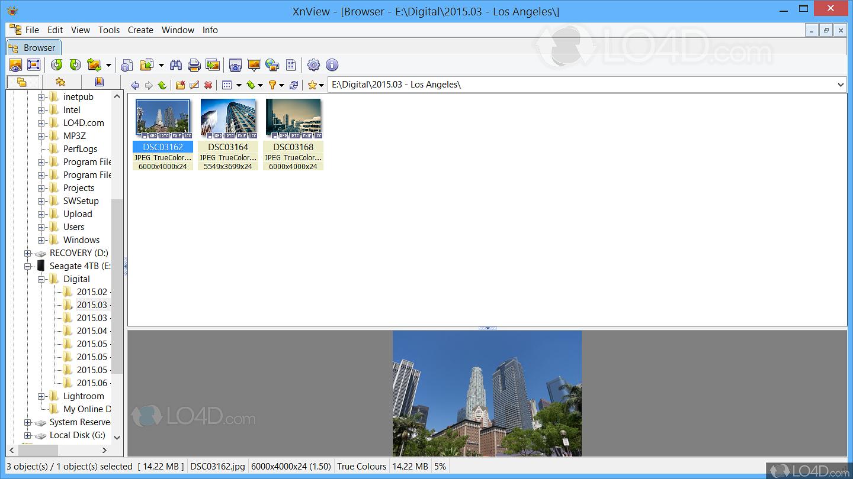xnview gratuit vista