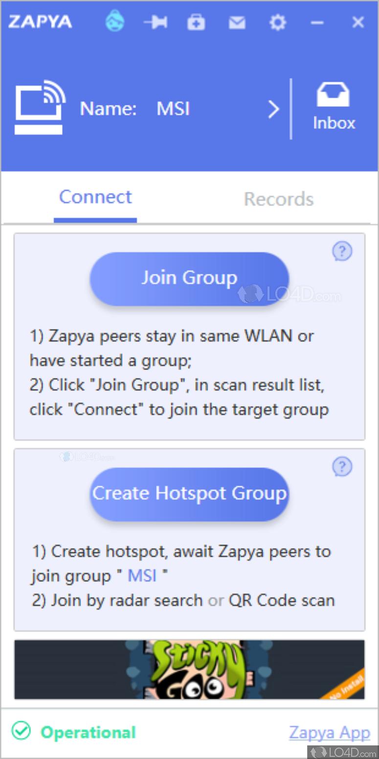 Zapya For Windows Lo4d Com